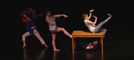 T2 Dance Project. Photo by Jamie Krause.